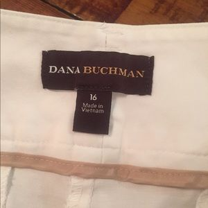 Dana Buchman Pants - White shorts for the summer slightly used